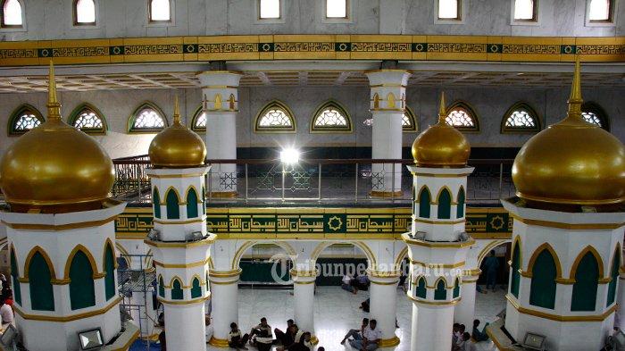 Masjid Tua dengan 6 Menara, Sisi Unik Masjid Peninggalan Sultan Abdul Jalil Alamuddin Syah