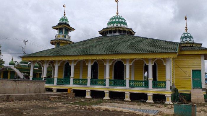 Cara Masjid Hibbah Pelalawan Terapkan Prokes Selama Pandemi Covid-19, Begini Pengaturan Salat