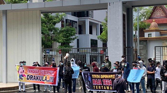Aliansi Mahasiswa Penyelamat Uang Negara Gelar Demo Soroti Dugaan Korupsi, Apa yang Dituntut Massa?