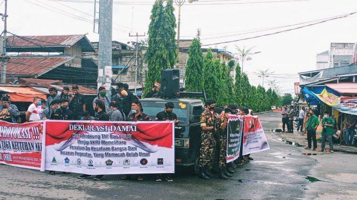 Massa Organisasi dan Paguyuban Inhil Deklarasi Tolak Upaya Pemecah Belah Umat