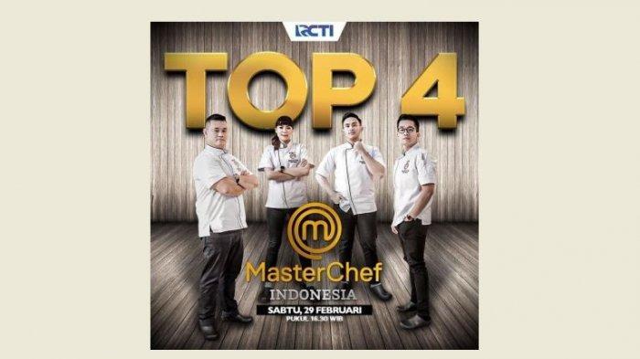Live Streaming MasterChef Indonesia Hari Ini TOP 4 di RCTI, Siapa Menuju Grand Final?
