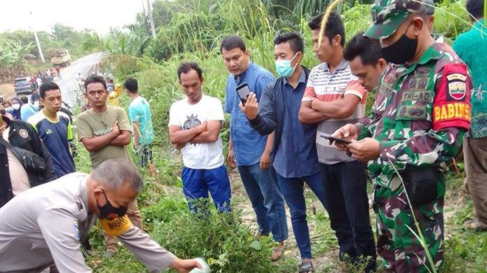 Tali Melilit di Leher,Mayat di Jalan Bangkinang-Petapahan Diduga Dibunuh,Apa Analisa Polres Kampar?