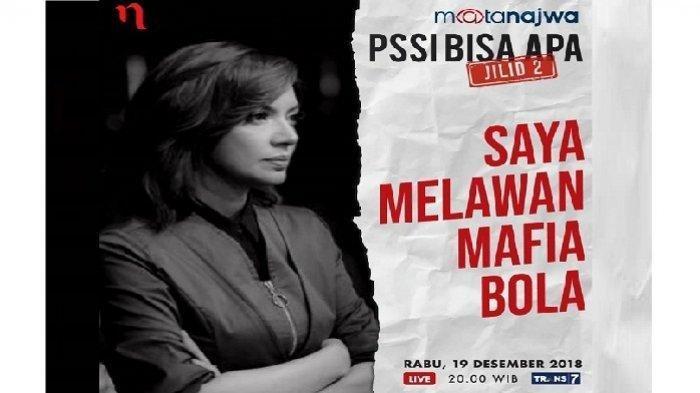 Mata Najwa 'PSSI Bisa Apa Jilid 2': Mr X Sebut Vigit Waluyo 'Raja 'di Liga 2
