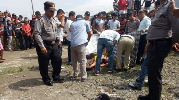 Mayat Laki-laki Bersimbah Darah Ditemukan di Simpang By Pass Lubeg Padang, Ada Pisau di Pinggang