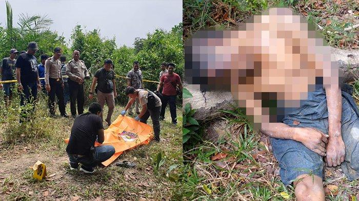 Mayat Pria Diduga Korban Pembunuhan Ditemukan di Sungai Pekanbaru,Tulang Leher Patah dan Lebam
