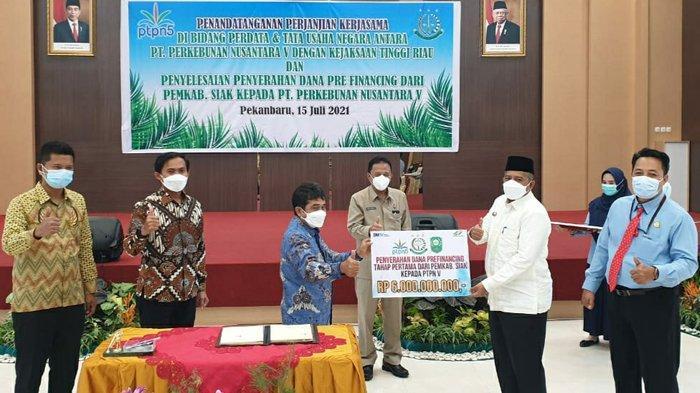 Mediasi Kejati Riau Berhasil, Pemkab Siak dan PTPN V Saling Penuhi Kewajiban