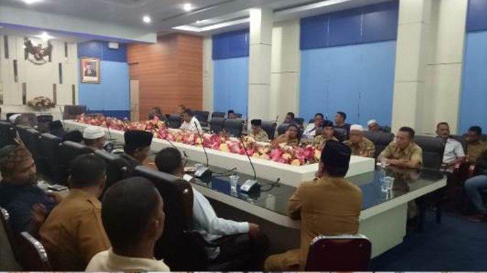 Warga Rambah Samo Dimediasi di Kantor Bupati Rohul Riau, Terkait Konflik dengan PT SAI