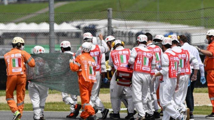 Detik-detik Kecelakaan yang Tewaskan Pebalap Moto3 Jason Dupasquier