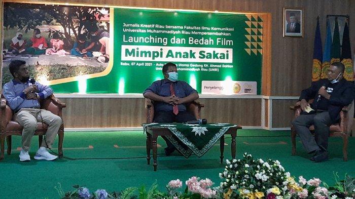 Mengungkap Kondisi Suku Sakai di Riau Sekarang Via Bedah Film Mimpi Anak Sakai, Hasilnya Mengejutkan