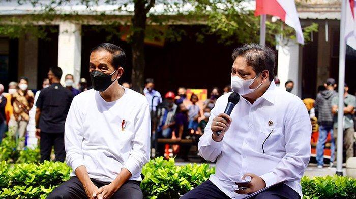 Menko Airlangga Dampingi Presiden Joko Widodo Memulai Program BT-PKLW di Yogyakarta