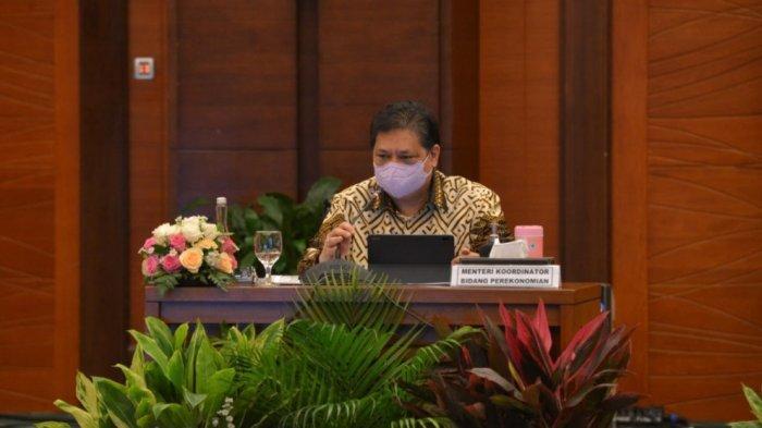 Menko Airlangga: Pertumbuhan Ekonomi Indonesia, Bergantung Pada Efektivitas Penanganan Covid-19