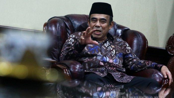Positif Covid-19, Menteri Agama Fachrul Razi Sampaikan Pesan Saling Menguatkan untuk Masyarakat