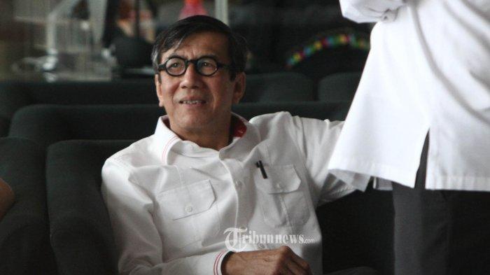 Usai Diperiksa KPK Terkait Kasus Korupsi e-KTP, Begini Tanggapan Menteri Yasonna Laoly