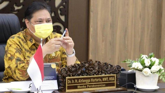Alasan Kasus Belum Turun, Airlangga: PPKM Luar Jawa-Bali Di Perpanjang