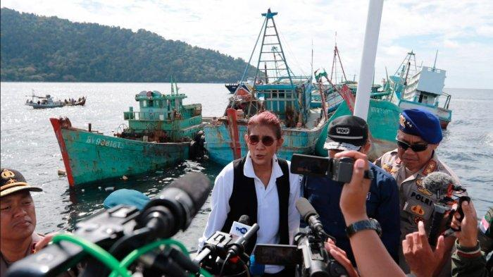 Bentuk Pengawalan Menteri Susi Pasca Insiden Penusukan Menkopolhukam Wiranto di Banten