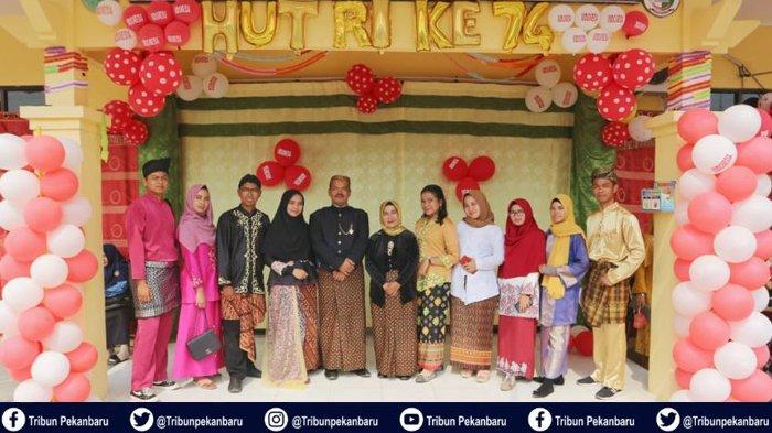 Meriahkan Hari Kemerdekaan Mahasiswa Kukerta Universitas Riau Gelar Lomba untuk Warga