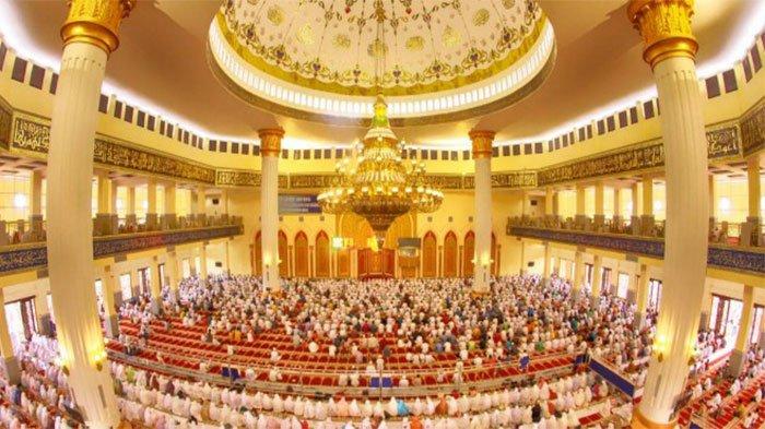 Masjid Agung Madani Rohul Terbaik Nasional, Dilengkapi Perpustakaan Digital