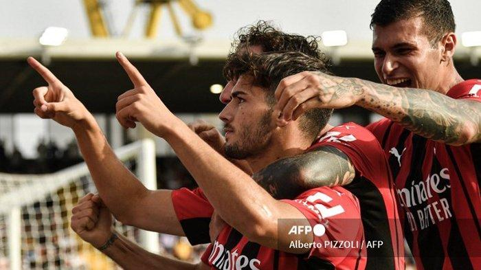 Update Klasemen Liga Italia usai AC Milan Taklukan Spezia, Rossoneri Melejit ke Puncak Klasemen