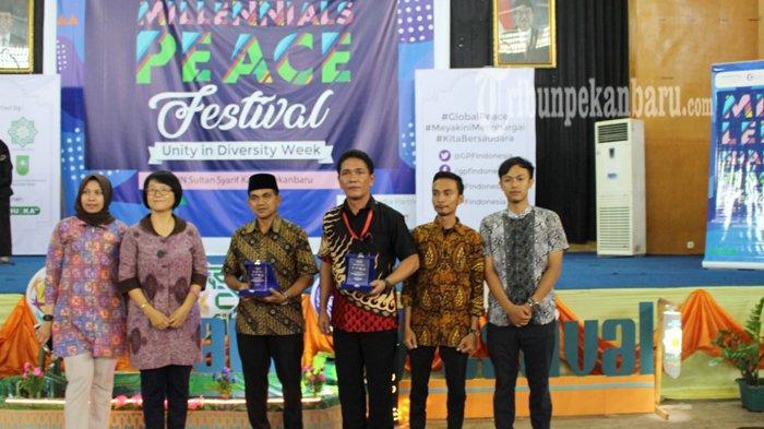 Milenials Peace Festival Pekanbaru 2018 Resmi Dibuka, Ajak Generasi Muda Kampanye