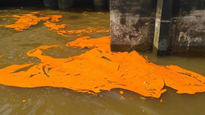 KSOP Dumai Sebut PT.Nagamas Palm Oil Tidak Punya Alat Bersihkan Tumpahan Stearin