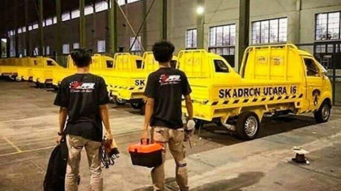 TNI AU Beli Mobil Esemka untuk Operasional Tiga Skadron Udara
