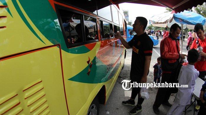 Jadwal Pelayanan SIM Keliling dan Samsat Keliliing Pekanbaru Hari Ini Senin 18 November 2019