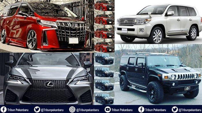 Mobil MEWAH Merek Land Cruiser, Lexus, Hummer, Alphard Harga Miliaran Rupiah di Riau Menunggak Pajak