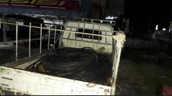 Korban Rugi Rp 300 Juta, 11 Pencuri Kabel dan Besi di Pekanbaru Diringkus, Penjara Langsung Penuh