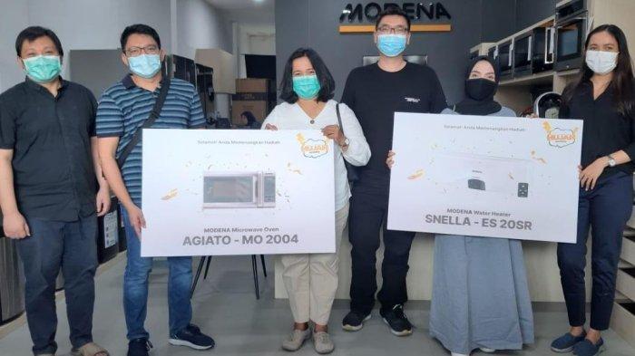 MODENA Bagikan Hadiah Bernilai Jutaan Rupiah untuk Pemenang Hujan MODENA