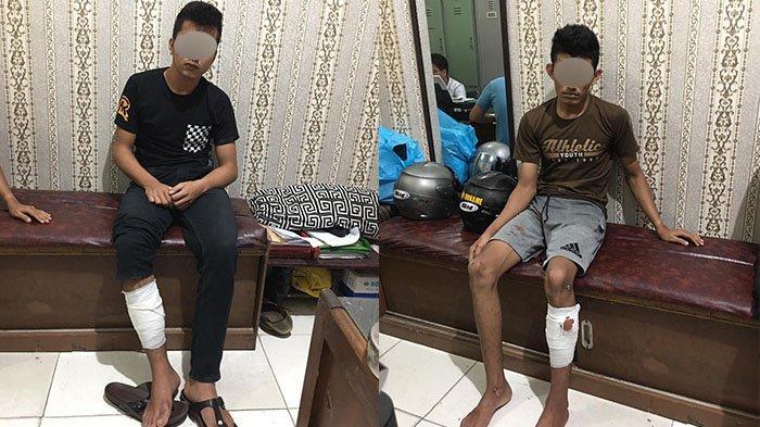 Modus Tanya Alamat, Dua Pemuda Rampas Handphone Bocah, Dihadiahi Polisi Timah Panas di Kaki
