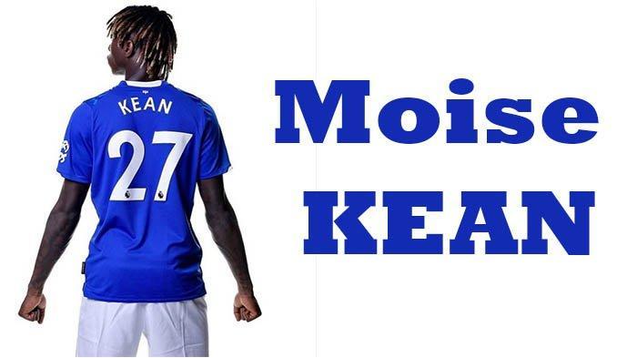 Moise Kean ke Everton 2019