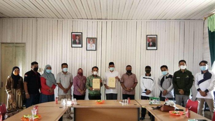 Dinas Sosial dan BAZNas di Siak Kolaborasi Terkait Program Bansos