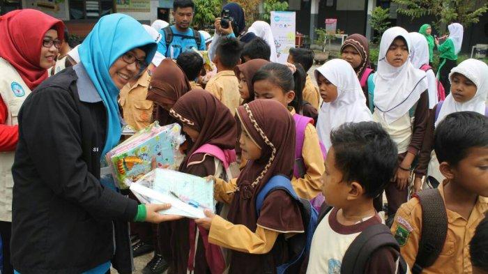 MSI Riau Berbagi dan Edukasi Anak-Anak di SDN 142 Pekanbaru