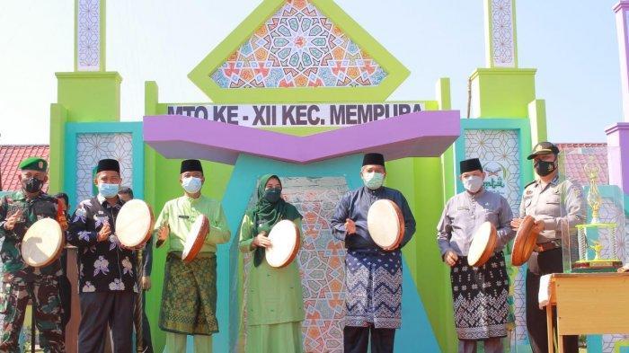 MTQ Kecamatan Mempura di Tengah Pandemi, Bupati Siak Ingatkan Jangan Terjadi Klaster Baru