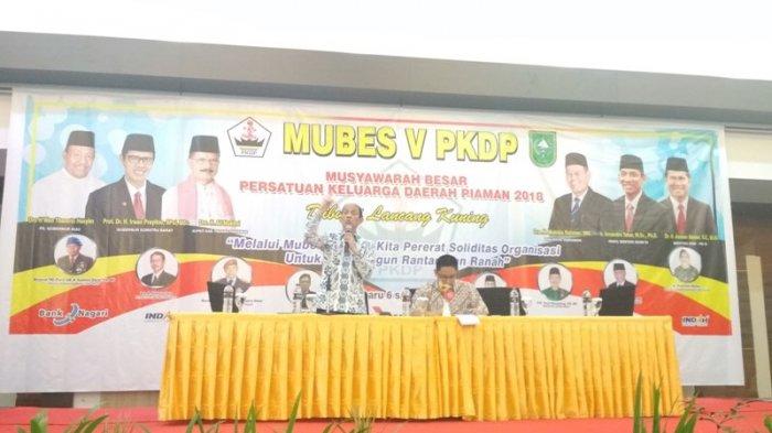 Asal Kampung Dalam, Inilah Sosok Refrizal Ketua Baru PKDP yang Dipilih Saat Mubes di Pekanbaru
