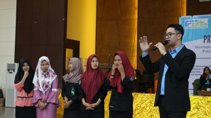 FDK UIN Suska Riau Datangkan News Anchor I News TV
