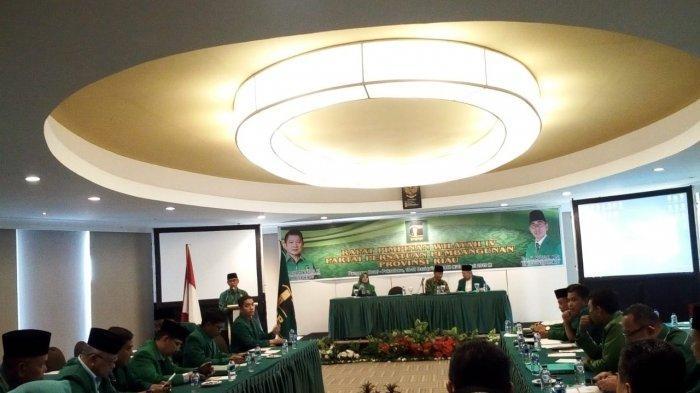 PPP Riau Usulkan Pemisahan Pileg Dari Pilres. Ini Alasan Plt Ketua PPP Riau Mursini