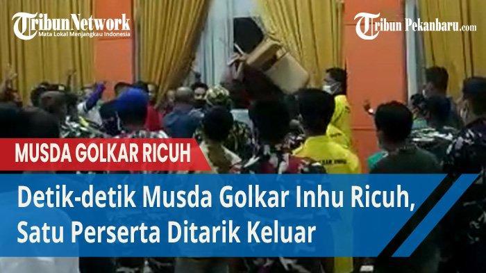 Duel Yopi Arianto dengan Yulisman Batal pada Musda Partai Golkar Inhu, Eh Ada Surat Bebas G 30 S PKI