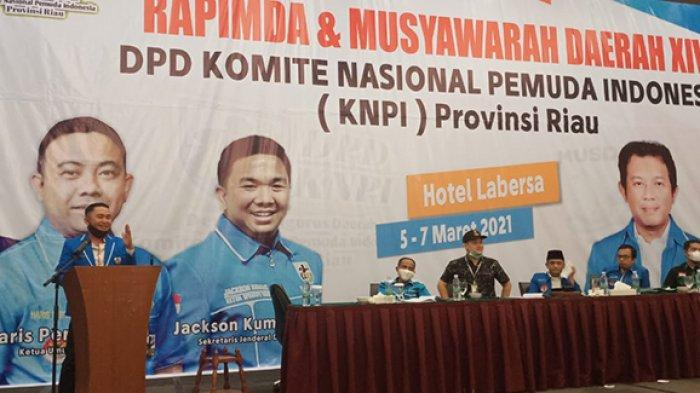 Fuad Santoso Terpilih Aklamasi Sebagai Ketua KNPI Riau, Jadi Satu-satunya Calon