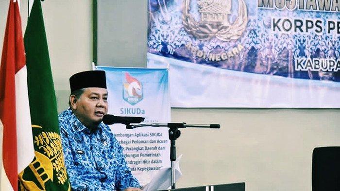 Afrizal Resmi Ketua Korpri Inhil 2020-2025, Terpilih di Muskab II, Ini Pesannya