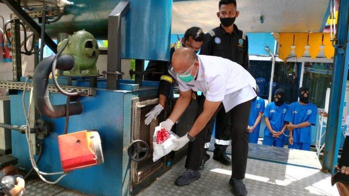 Pemilik 1 Kg Sabu Bakal Kena Pasal Tindak Pidana Pencucian Uang, BNNP Riau Telusuri dan Sita Aset