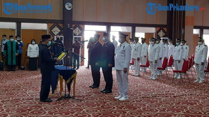 Mutasi Perdana Tahun 2021, Walikota Pekanbaru Firdaus Mutasi Pejabat Struktural, 149 Pejabat Digeser