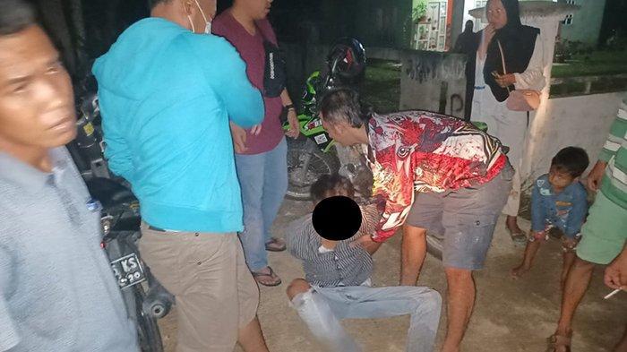 Diciduk Polisi di Jalan Desa, Pekerja Serabutan di Kuansing Riau Diduga Edarkan Sabu-sabu