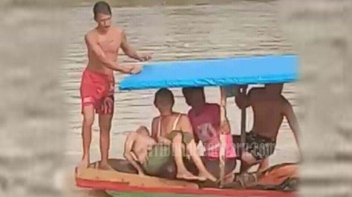 Naas, Empat Anak Tewas Tenggelam di Sungai Indragiri Saat Libur Sekolah karena Ancaman Virus Corona