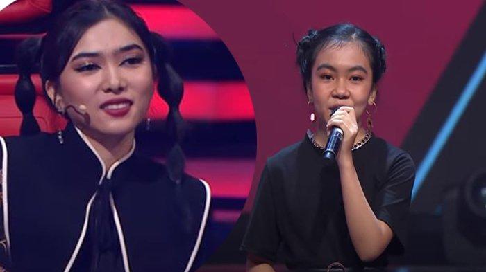 POWERFULL, Najla Bukittinggi Lolos dan Pukau The Voice Kids Indonesia 2021 dengan Lagu Nike Ardilla
