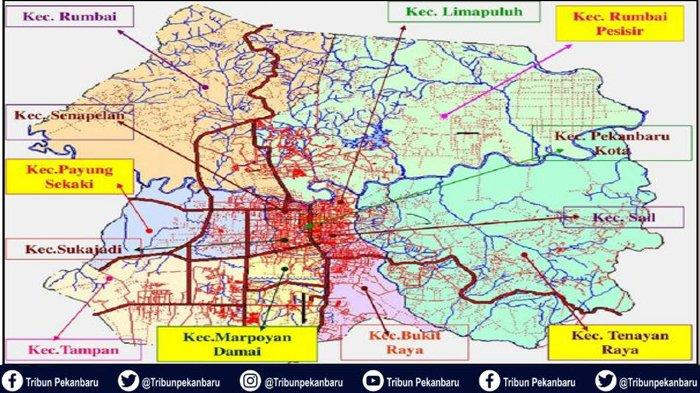 WARGA PEKANBARU MOHON DISIMAK,Banyak Kelurahan Pindah Kecamatan Pascapemekaran,Daerah Anda Termasuk?
