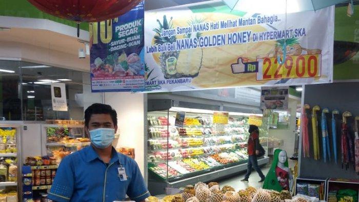 PROMO Nanas Golden Madu di Hypermart Mal SKA, Jadi Rp 22.900, Rasa Manis Kaya Vitamin C