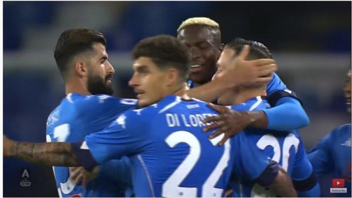 Liga Italia : Napoli Kalahkan Fiorentina, Klasemen Liga Italia Ketat, AC Milan dan Juventus Terancam