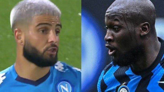 Napoli vs Inter Milan, Insigne Siap Teror Pertahanan Nerazzurri, Lukaku Kejar Top Skor Liga Italia