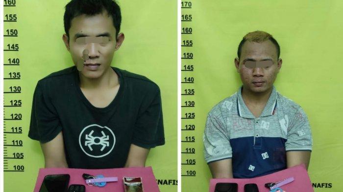 Gerak-gerik 2 Pria Mencurigakan di Atas Motor Saat Lihat Polisi, Ternyata Bawa Barang Ini